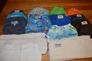 Cloth Diapers and wetbag