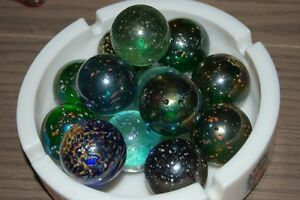 Vintage Canning Jars With with Marbles and some loose Marbles London Ontario image 10