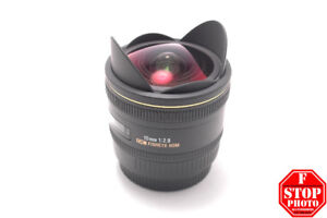 Sigma EX 10mm f2.8 DC HSM Fisheye Lens for Canon