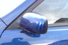 Lexus is200 winge side mirror power folding silver blue grey green 98-05 breaking can post