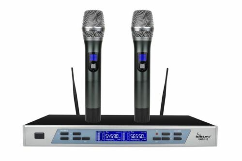 IDOLpro UHF-310 Professional Intelligent Dual Wireless Auto Noise Cancellation M