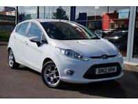 2012 FORD FIESTA 1.25 Zetec [82] ALLOYS, HTD SCREEN and AIR CON