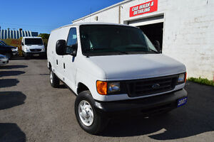 2007 Ford E-250 Cargo Van Accident Free Only 99 Km Oakville / Halton Region Toronto (GTA) image 1