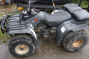 1986 Yamaha moto 4 225, excellent condition for age, was stored