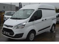 2015 FORD TRANSIT CUSTOM 270 TREND HIGH ROOF VAN PANEL VAN DIESEL