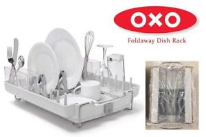 NEW OXO Foldaway Dish Rack Condtion: New