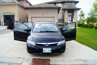 *PRIVATE SALE* 2007 Honda Civic *LOW KMS*
