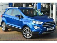 2018 Ford Ecosport 1.0 EcoBoost Titanium 5dr 6Spd 125PS Hatchback Petrol Manual