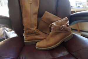 Roots laeather riding boots