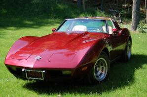 1978 L48 Silver Anniversary T-Top Corvette