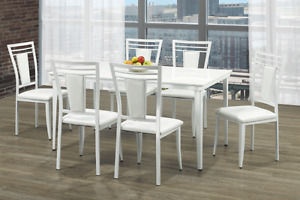 NEW ★ 7 Piece Dinette ★ NO TAX ★ Can Deliver