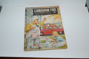 Canadian tire catalogues