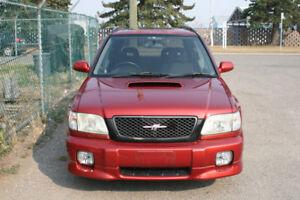 2001 Subaru Forester Turbo Awd