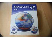 Kugelpuzzle 3 D Sonnenuntergang am Meer Berlin - Spandau Vorschau