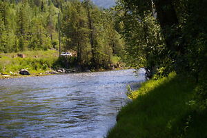 BC Riverfront Acreage For Sale