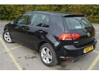 2015 Volkswagen Golf Match 1.4 TSI 122 PS 6-speed manual 5 Door Petrol black Man