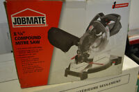 "Jobmate 8.25"" Compund Mitre Saw - AS NEW used once only"