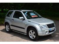 2006 SUZUKI GRAND VITARA 1.6 VVT + 3dr ONE OWNER 4X4