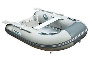 7.5 ' INFLATABLE FISHING BOAT with aluminum floor