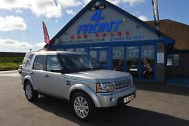 2011 LAND ROVER DISCOVERY 4 SDV6 HSE 3.0 DIESEL AUTO 7 SEATER 5 DOOR 4X4 ESTATE