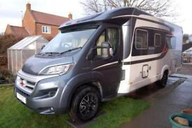 Burstner Nexxo T720 Sovereign luxury 3 berth, low profile motorhome, low miles