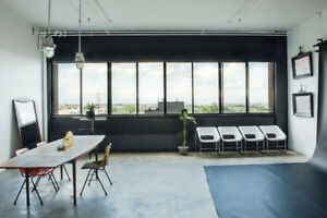 Spacious bright studio/office space Mile End - approx 650sqft