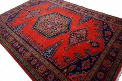 Remarkable Large Handmade Kerman Persian Rug Carpet - 322x220 cm