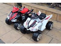 12v Quad Black Or White, Brand New Boxed With Warranty Limited Stock