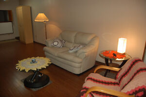 SAFE and QUIET -1 Bed Bsmt-Westmount (semi-furnished)