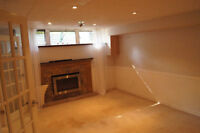 Large 1 bedroom bsmt apartment all utility included with WIFI