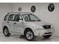 2002 Suzuki Grand Vitara 2.0+VERY LOW MILEAGE+LONG MOT+2 KEYS+BARGAIN+PX+SWAP+