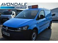 2015 VOLKSWAGEN CADDY MAXI C20 TDI DSG UTOMATIC VERY RARE BLUE VAN WITH AIR-CON