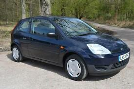 2003 FORD FIESTA 1.25 Finesse 3dr ONE OWNER 48,000 MILES