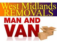 Removals Services Start from £15ph MAN AND VAN HIRE Short-Notice Services