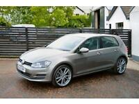 2014 VW GOLF MK7 1.6 TDI SE LIMESTONE GREY FVSH FOCUS A3