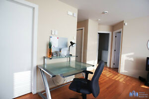Furnished apartment 4 1/2 condo for rent Chomedey Laval