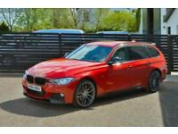 2015 15 BMW 3 SERIES 2.0 320D M SPORT TOURING 5D AUTO MELBOURNE RED DIESEL