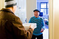 Deliver Meals on Wheels by Car or Bike!