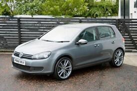2012 VW GOLF 1.6 TDI MATCH NIMBUS GREY 5DR FSH 2 KEYS £193 PER MONTH £0 DEPOSIT