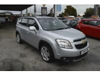 Chevrolet Orlando 2.0 VCDi 163ps Exec Pk auto 2012 LTZ 7 seater SAT NAV LEATHER