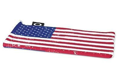 OAKLEY AMERICAN FLAG MICROBAG STORAGE CLEANING BAG, SUNGLASSES CASE MICROFIBER
