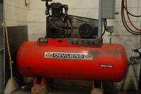 Devilbiss 575 volt commercial compressor