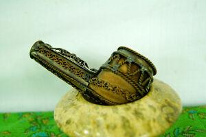 Ornate Vintage Smoking Pipe - Steampunk Pipe - Handmade Rare Pip