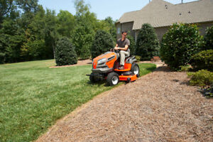 We have all your lawn tractor/zeroturn needs with FREE DELIVERY!