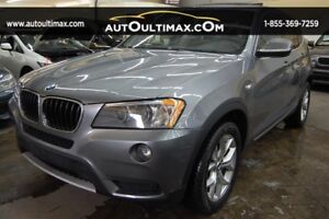 BMW X3 AWD  28i-2.0L TURBO-NAV-CAMERA RECULE 2013