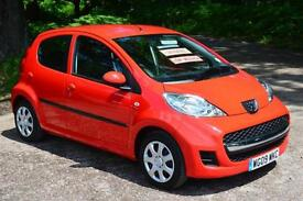 2009 PEUGEOT 107 1.0 Urban 5dr only 8,000 miles. GBP20 TAX