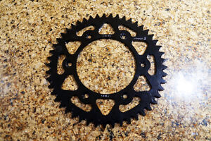 Brand new Warp 9 Aluminum Rear Sprocket (49T)