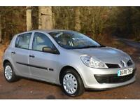 2006 RENAULT CLIO 1.4 16V Expression 5dr ONLY 38,000 MILES