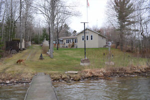 GORGEOUS WATERFRONT HOME IN DESBARATS!