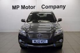 2012 12 TOYOTA RAV4 2.2 XT-R D-4D 150 BHP 5DR 6SP 4WD DIESEL ESTATE,FTSH,5STAMPS